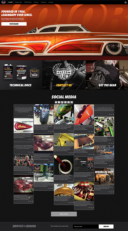House Of Kolor Announces Redesigned Website