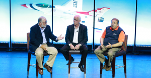 The Group leadership (left to right): Bill Maggs, CEO, National Pronto Association; Larry Pavey, CEO, Automotive Parts Services Group (The Group); and Rusty Bishop, CEO, Federated Auto Parts