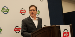 "MERA President and COO John Chalifoux talks about ""Manufactured Again"" at AAPEX 2016 in Las Vegas."
