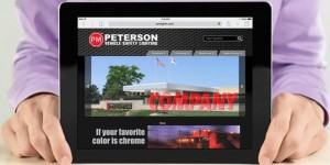Peterson - New Website