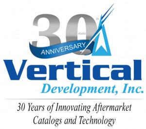 30th Anniversary Logo Stacked with Tagline
