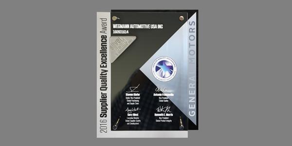 Wegmann Automotive Presented With General Motors 39 Supplier