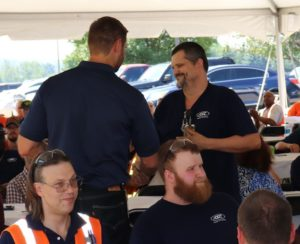 Airtex-ASC recently hosted an employee appreciation barbecue lunch at its headquarters in North Canton, Ohio. During the lunch, Airtex-ASC recognized employees for significant length of service milestones, including Jim Parker (pictured) who has 20 years with the company.