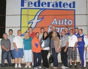 Federated Car Care Winners Have Dirty Weekend With Kenny