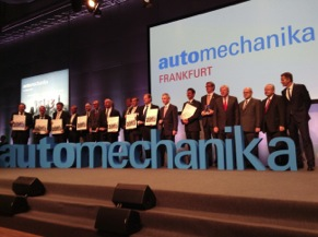 This year's Innovation Award winners were honored at the 2014 Automechanika Frankfurt opening ceremony.
