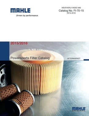 mahle aftermarket releases first powersports filter catalog -  aftermarketnews  aftermarket news